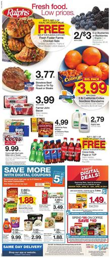 Ralphs Weekly Ad Digital Coupons Apr 24 30 2019