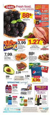 Ralphs Weekly Ad Grocery Sale Apr 10 16 2019