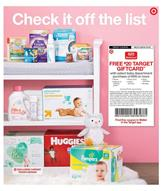 Target Weekly Ad Baby Care Products Apr 28 May 4 2019