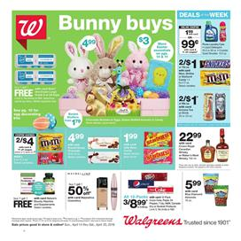 Walgreens Weekly Ad Easter Snack Sale Apr 14 20 2019