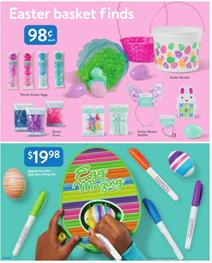 Walmart Ad Easter Products Mar 29 Apr 13 2019