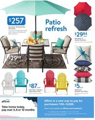 Walmart Ad Patio Sale Mar 29 Apr 13