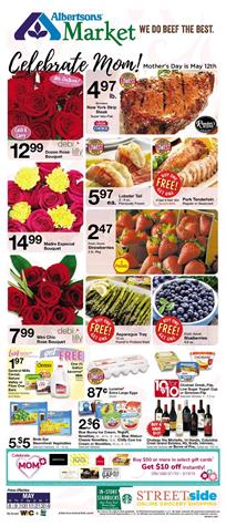 Albertsons Weekly Ad Mothers Day May 8 14 2019