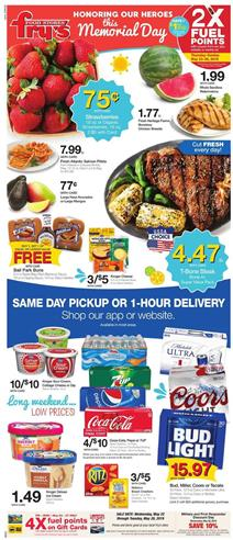 Frys Weekly Ad Deals May 22 28 2019