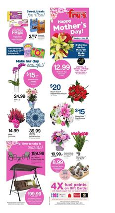 Frys Weekly Ad Mothers Day Gifts May 8 14 2019