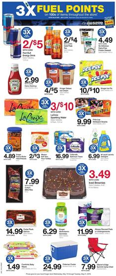 Kroger Weekly Ad 3x Fuel Points May 15 21 2019