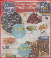 Kroger Weekly Ad Memorial Day May 22 28 2019