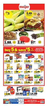 Meijer Weekly Ad Grocery Sale Jun 2 8 2019