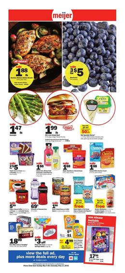 Meijer Weekly Ad Grocery Sale May 5 11 2019