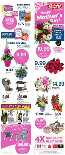 Ralphs Weekly Ad May 8 14 2019 Mothers Day