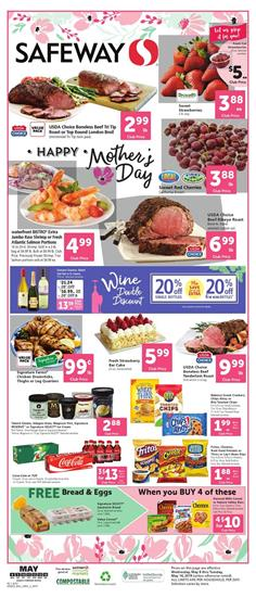 Safeway Weekly Ad Mothers Day May 8 14 2019