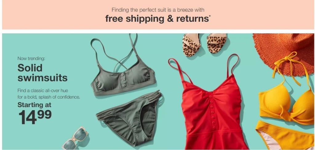 Target Swimsuit Sale May 2019