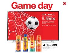 Target Weekly Ad Game Day Sale Jun 2 8 2019
