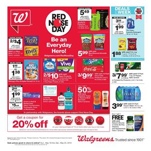 Walgreens Ad Health Care Deals May 19 25 2019