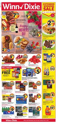 Winn Dixie Weekly Ad Grocery Sale May 8 14 2019