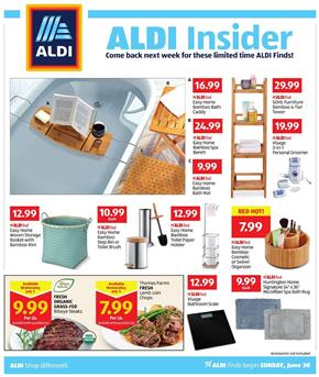 ALDI Weekly Ad Bath Products Jun 30 Jul 6 2019