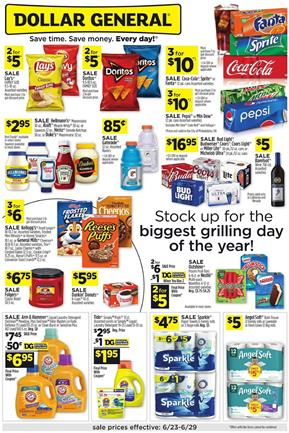 Dollar General Ad Deals Jun 23 29 2019