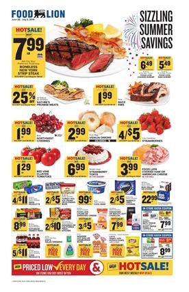 Food Lion Weekly Ad Grilling Deals Jun 26 Jul 2 2019