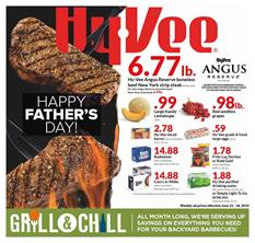 Hyvee Weekly Ad Fathers Day Jun 12 18 2019
