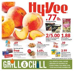 Hyvee Weekly Ad Grocery Sale Jun 19