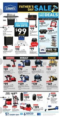 Lowes Weekly Ad Fathers Day Grill Sale Jun 6 19 2019