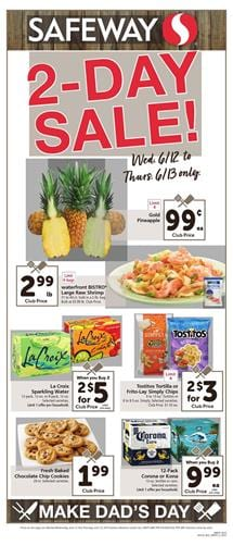 Safeway Weekly Ad Father's Day Sale Jun 12 - 18, 2019