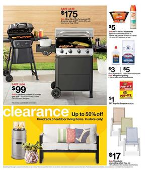 Target Ad Grills and Outdoor Living Clearance Save 50% Off on Target Outdoor Living id=31469