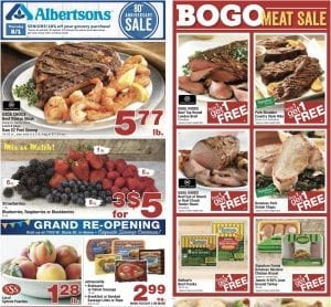Albertsons Weekly Ad Jul 31 Aug 6 2019