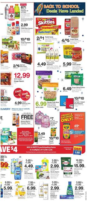 Back to School Sale Ralphs Weekly Ad Jul 24 30 2019