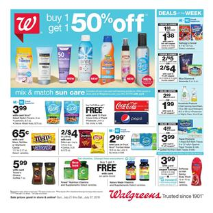 Back to School Walgreens Weekly Ad Jul 21 27 2019