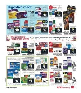 CVS Allergy Relief Deals Weekly Ad Sale Jul 28 Aug 3 2019