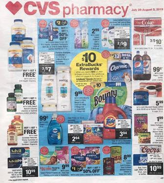 CVS Weekly Ad Preview Jul 28 Aug 3 2019
