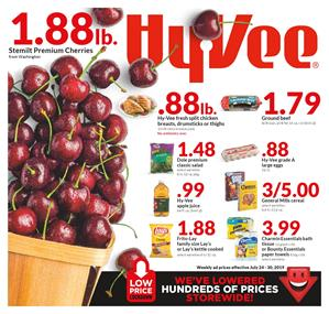 Hy Vee Weekly Ad Jul 24 30 2019