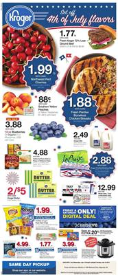Kroger Weekly Ad 4th of July Deals 2019