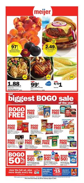 Meijer Coupons BOGO Free Sale Weekly Ad Jul 28 Aug 3 2019