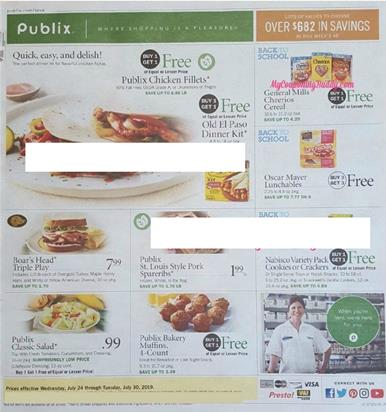 Publix Weekly Ad Jul 24 30 2019