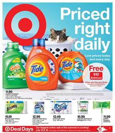 Target Weekly Ad Household Products Jul 7 13 2019
