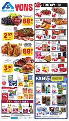 Vons Weekly Ad Deals Jul 24 30 2019 1