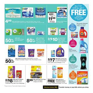Walgreens Ad Household Products Jul 7 13 2019