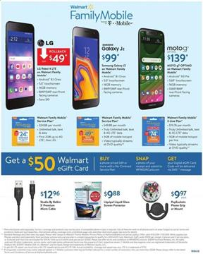 Walmart Ad FamilyMobile Deals