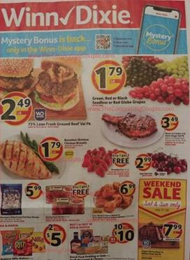 Winn Dixie Weekly Ad Jul 24 30 2019