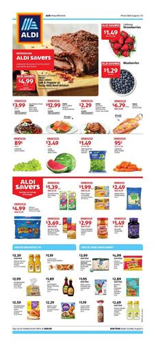 ALDI Weekly Ad Deals Aug 4 10 2019