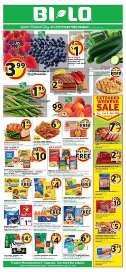 Bilo Weekly Ad Grocery Sale Aug 7 13 2019