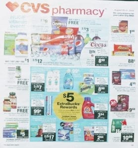CVS Weekly Ad Preview Aug 25 31 2019