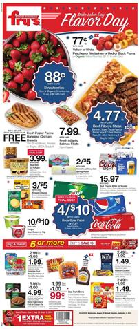 Frys Labor Day Deals Weekly ad Aug 28 Sep 3 2019