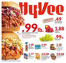 Hyvee Grocery Deals Weekly Ad Aug 14 20 2019