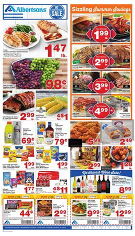 Just for U Coupons Albertsons Weekly Ad Aug 7 13 2019