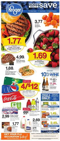 Kroger Buy 5 Save 5 Weekly Ad Products Aug 21 27 2019