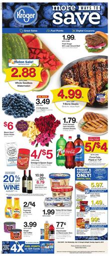Kroger Deals Weekly Ad Jul 31 Aug 6 2019