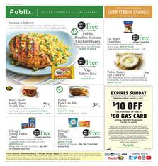 Publix Fruit Deal and Lemons From Weekly Ad Sale Aug 7 13